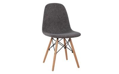 Трапезен стол Twist HM0126.50 - Сив