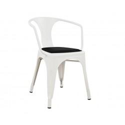 Метален стол с подлакътник Melita HM10238