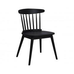 Трапезен дървен стол Marini HM8014.02 - Черен