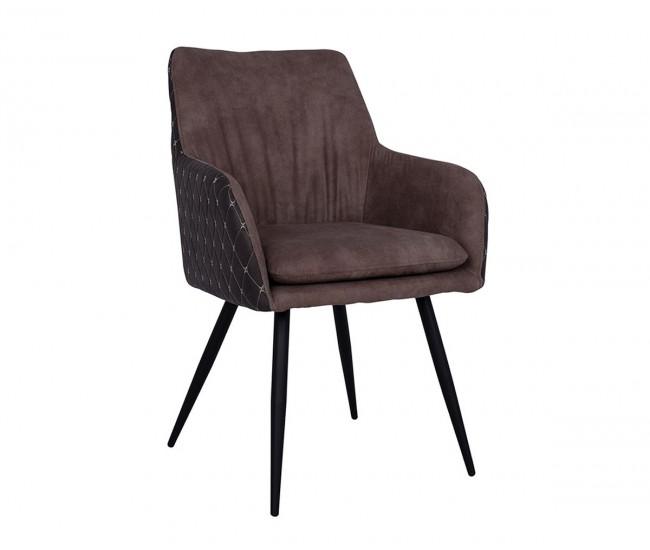 Комплект от 2 бр. столове с подлакътник