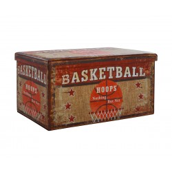 Продълговата табуретка с ракла Basketball HM8130