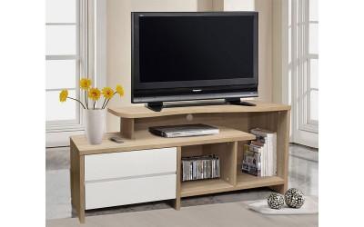 ТВ шкаф HM2212.01 - Бяло/Сонома