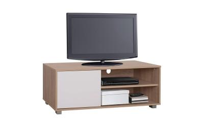 ТВ шкаф HM2340.01 - Сонома/Бяло