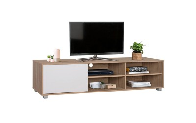 ТВ шкаф HM2343.01 - Сонома/Бяло