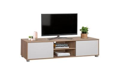 ТВ шкаф HM2344.01 - Сонома/Бяло