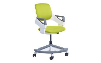 Детски стол със степенка Carmen Clever - горчица