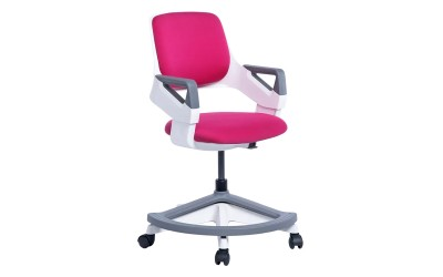 Детски стол със степенка Carmen Clever - розов