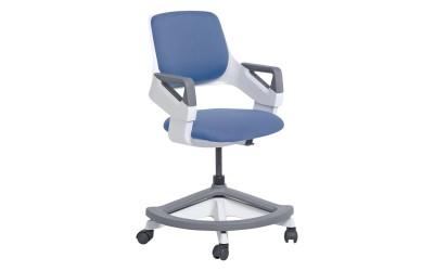 Детски стол със степенка Carmen Clever - син