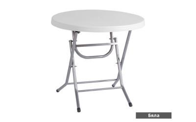 Сгъваема маса за Градина MANOLYA 80 - с метални крака