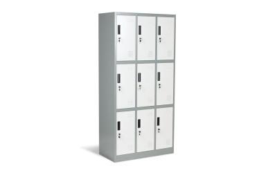 Метален офис шкаф Carmen CR-1244 J LUX