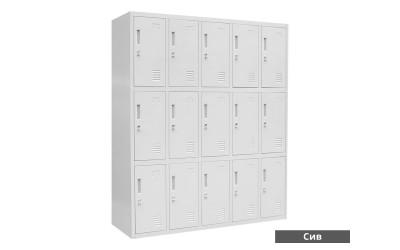 Метален офис шкаф Carmen CR-1275 J