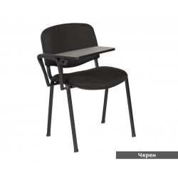 Посетителски стол Carmen 1140 LUX - Черен