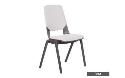 Посетителски стол Limber - Бял