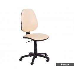 Работен офис стол POLO без подлакътници - Бежов