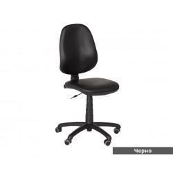 Работен офис стол POLO без подлакътници - Черен