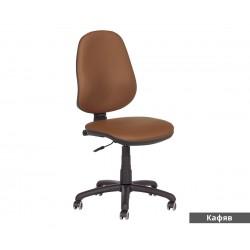 Работен офис стол POLO без подлакътници - Кафяв N