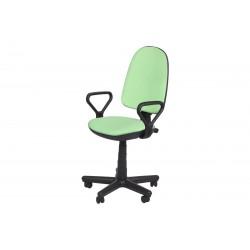 Офис стол Carmen COMFORT с подлакътници - Зелен