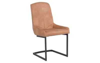 Тапициран трапезен стол Carmen 374 - праскова
