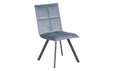 Тапициран трапезен стол Carmen 516 - сив