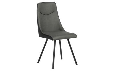 Тапициран трапезен стол MALTON - тъмносив SF 2