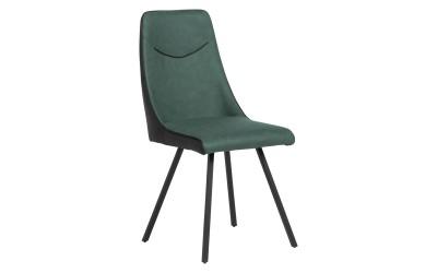 Тапициран трапезен стол MALTON - тъмнозелен SF 2