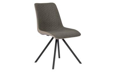 Тапициран трапезен стол SWINTON - кафяв BF 3