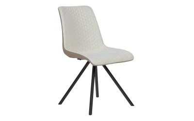 Тапициран трапезен стол SWINTON - пясъчно BF 3