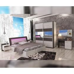 Спален комплект Авангард с LED осветление