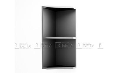 Модул Г9 - горна ъглова етажерка за кухня Версаче - 30 см.