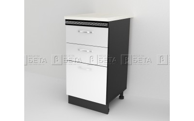 Модул Д6 - долен шкаф за кухня Версаче - 40 см.
