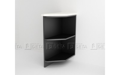 Модул Д8 - долна ъглова етажерка за кухня Версаче - 30 см.