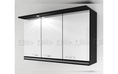 Модул Г3 - горен шкаф за кухня Версаче с осветление - 120 см.