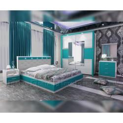 Спален комплект Римини - с LED осветление