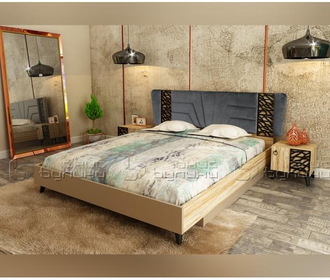 Спалня от спален комплект Его - 160/200 см.