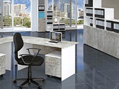 Модули за офис GX Светъл бетон