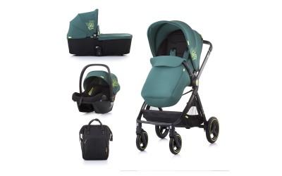 Комбинирана детска количка Елит 3 в 1 - бор - Chipolino
