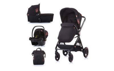 Комбинирана детска количка Елит 3 в 1 - далия - Chipolino