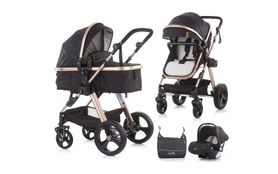 Комбинирана детска количка Хавана - карбон - Chipolino