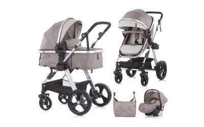 Комбинирана детска количка Хавана - лате - Chipolino