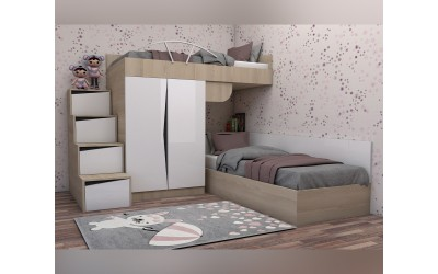 Комплект за детска стая Марти - Конфигурация №8