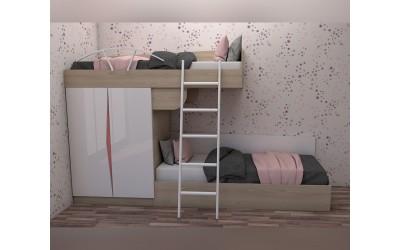Комплект за детска стая Марти - Конфигурация №9