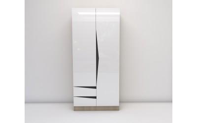 Двукрилен гардероб Марти М3