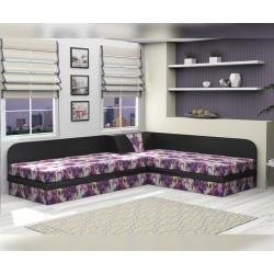 Тапицирани ъглови легла