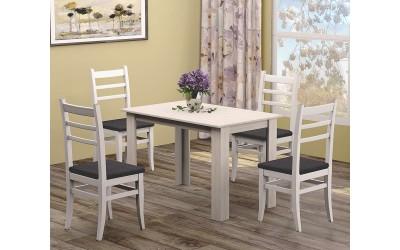 Трапезна маса Дани с четири стола