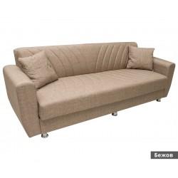 Триместен диван Ernest - с функция сън и ракла