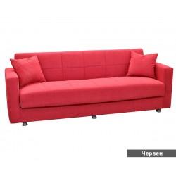 Триместен диван Marbella - с функция сън и ракла