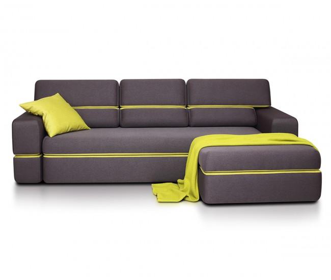 Ъглов диван Open - с функция сън