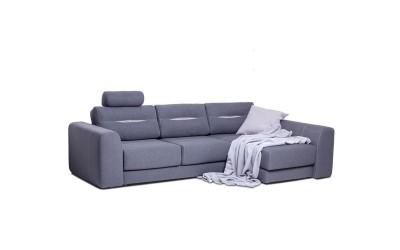 Ъглов диван VIP Plus - с функция сън и ракла