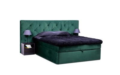 Тапицирано легло Дъблин - с матрак и топ матрак мемори