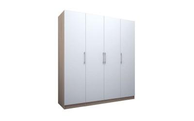 Четирикрилен гардероб ЕД - по проект